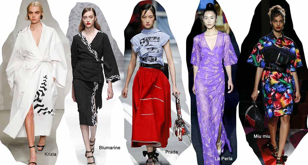 Модные платья на лето 2018, фото