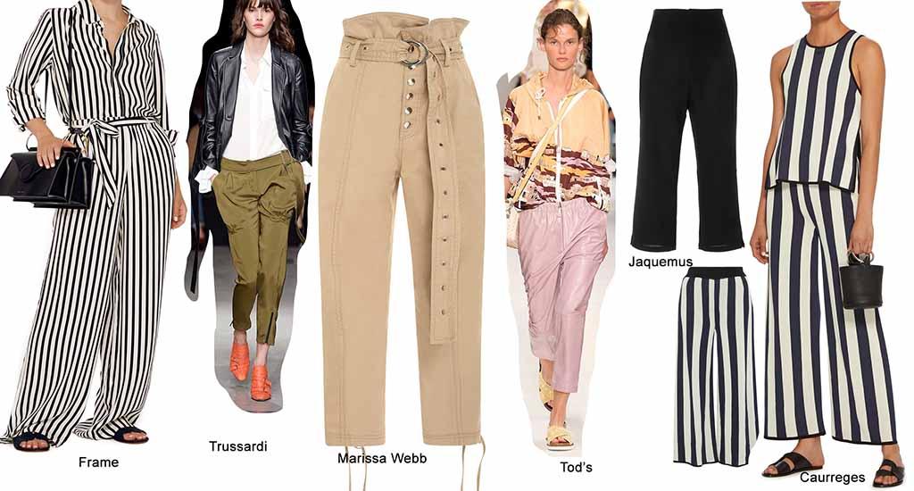 модные тренды весна лето 2018 года