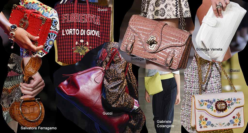 Модные тренды весна лето 2018 года: сумки